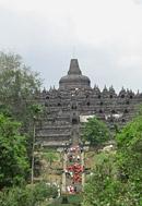 Weltkulturerbe Borobudur (Java, Indonesien)