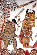 Deckengemälde im Palast von Klungkung