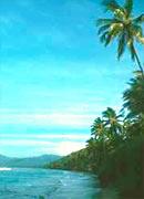 Palmen, feinsandiger Strand und ausgewählte Hotels prägen das Bild im Süden von Bali