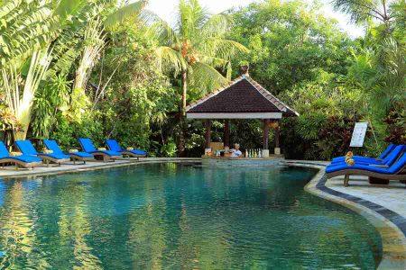 Bungalow Pool © Tonys Villas & Resort Bali